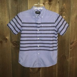 First Wave Boys Short Sleeve Button Up Size 12